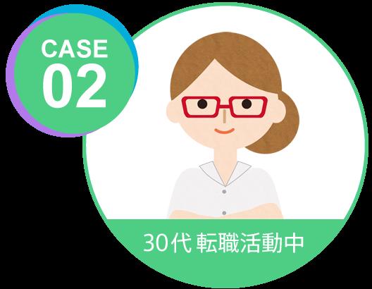 case02 30代転職活動中