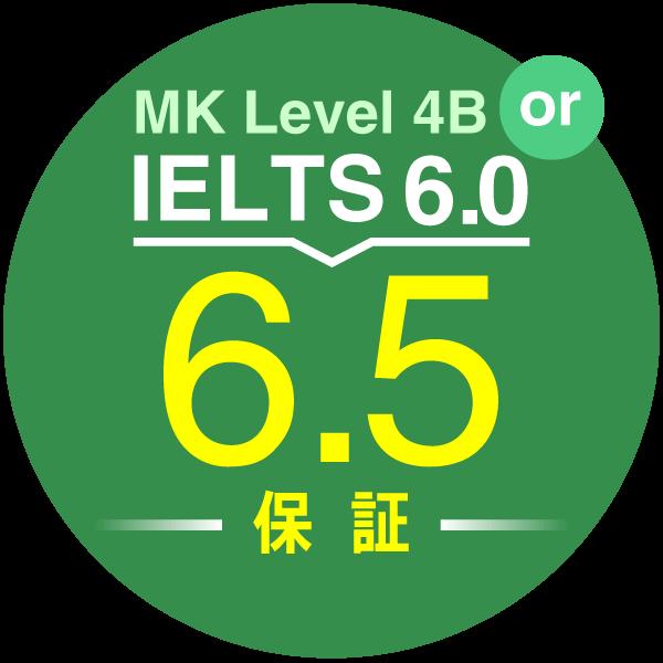 IELFS6.5 スコア保証