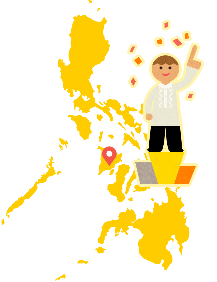 フィリピンのベストシティ 英語留学に最適な、穏やかで治安の良い町