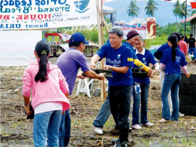 フィリピン ボランティア活動